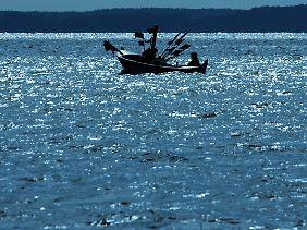 Rund 70 Prozent der Erdoberfläche ist von Wasser bedeckt.