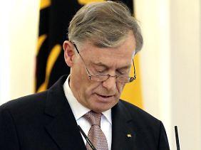 Köhler vermisste den Respekt vor seinem Amt.