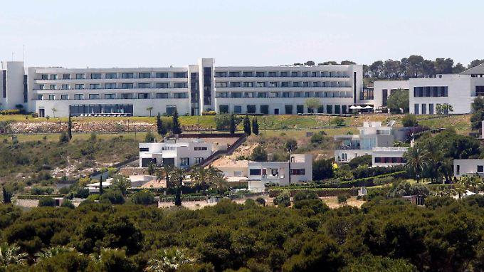 Das Hotel in Sitges.