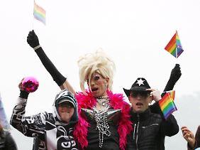 Schwule und Lesben kämpfen in Polen für mehr Rechte.