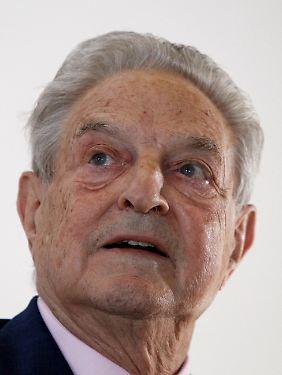 Das Vermögen von George Soros wird vom US-Magazin Forbes auf rund neun Mrd. US-Dollar geschätzt.
