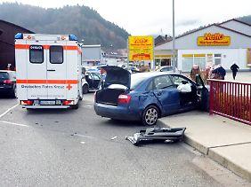 Ein Unfall beendete die Entführung.