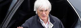 Mit einer Anklage gegen Formel-1-Boss Bernie Ecclestone wegen Bestechung wird gerechnet.