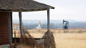 Sieht traditionell aus, ist aber erst durch moderne Techniken möglich: Ölförderung in North Dakota