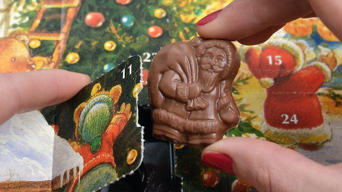 Warnung vor giftigen Adventskalendern: Tester finden Mineralöl in Schokolade