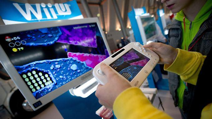 Der Gamepad mit eingebautem Bildschirm ist eine der großen Neuerungen.