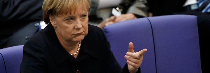 Merkel wollte den Befreiungsschlag - und landete zurück in der Krise.