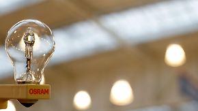 Löscher baut bei Siemens kräftig um: Osram muss alleine leuchten