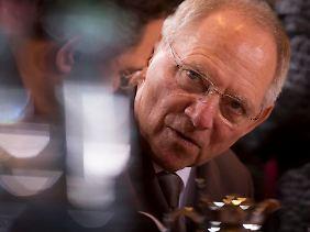 """""""Wenn wir das vermeiden können (...)"""": Schäuble erinnert an die Kosten des Lehman-Crash."""
