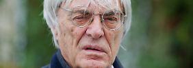 """""""Es war ein super Rennen, eine super Weltmeisterschaft"""": Bernie Ecclestone."""