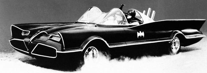 Der Dienstwagen von Batman war im Jahr 1966 ein Lincoln Futura.