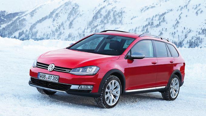 Der VW Golf Alltrack soll ab 2014 starten.