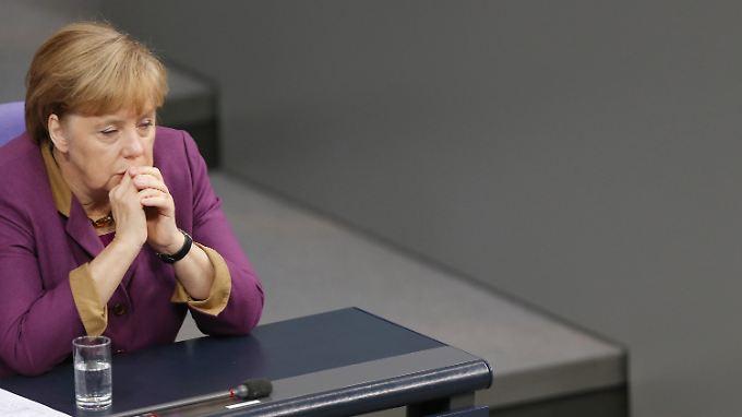 Mehrheit, aber keine Kanzlermehrheit: Angela Merkel.