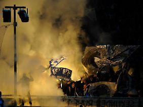 Die Fans aus München konnten sich nicht benehmen, sie sind wohl noch zu unreif.