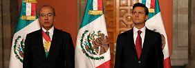 Machtwechsel in Mexiko: Peña Nieto übernimmt Stab