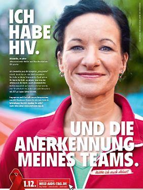 Alexandra weiß seit 10 Jahren, dass Sie HIV-positiv ist.