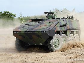 Exporterfolge mit Waffen: Für die deutsche Rüstungsindustrie wäre es ein höchst lukrativer Auftrag.