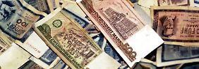 20 Jahre Währungsunion: Als aus der DDR-Mark die D-Mark wurde