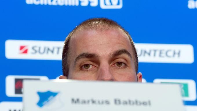 Zunehmend ratlos: Markus Babbel.