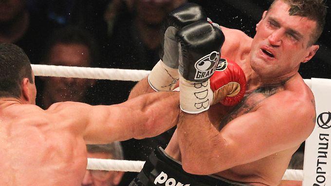 Half er im Kampf gegen Klitschko nach? Schwergewichtsboxer Mariusz Wach.