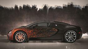 Schneller als der Veyron kann kein Kunstwerk sein.