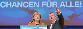 Platz für drei Neue: Merkel bekommt fünf Stellvertreter