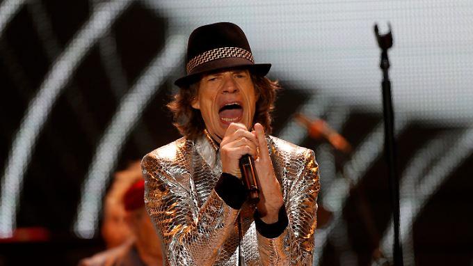 """Hätte vielleicht auch als Schauspieler Erfolg haben können: """"Rolling Stones""""-Frontmann Mick Jagger."""
