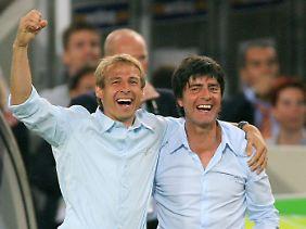 Welt- und Europameister sind Klinsmann und Joachim Löw nicht geworden. Dafür sind sie Umbaumeister.