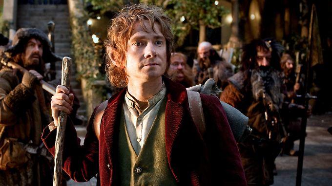 Ab jetzt für immer ein Hobbit: Martin Freeman als Bilbo Beutlin.