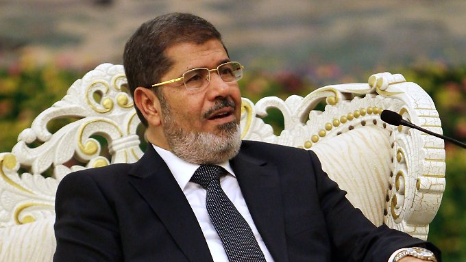 Der ägyptische Präsident Mohammed Mursi, umstritten.