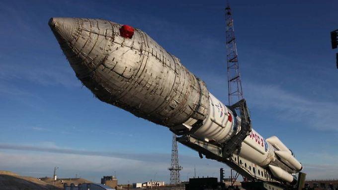 Roskosmos-Rakete in Baikonur: Auch das dortige Kosmodrom soll modernisiert werden.