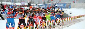Schießfehlerfestival kostet Podestplätze: Biathlon-Staffeln enttäuschen