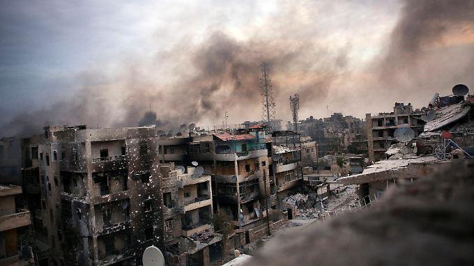 Nach UN-Schätzungen sind im syrischen Bürgerkrieg schon mehr als 30.000 Menschen umgekommen.