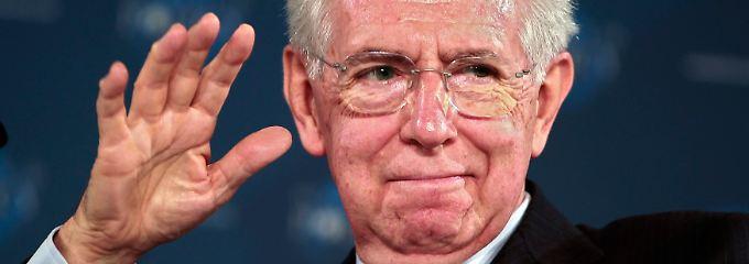 Nase voll oder geschickter Schachzug? So wie bisher will und kann Mario Monti nicht weitermachen.