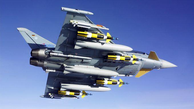 Der Eurofighter weckt unter anderem in Saudi-Arabien Begehrlichkeiten.
