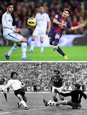 An Müllers Torquote aus dem Jahr 1972 von 1,41 Toren pro Spiel reicht Messi allerdings nicht heran.