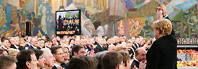 """Die Eurokrise und die Wahrheit: Merkel gibt """"keine Entwarnung"""""""