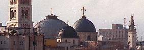 Grabeskirche in Jerusalem: Das heilige Wasser fließt wieder