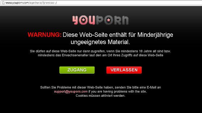 """Auch """"Youporn"""" gehört zum Firmengeflecht des Deutschen."""