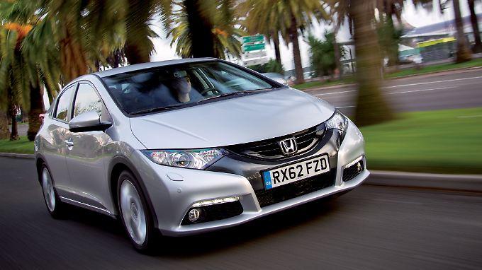 Der Honda Civic bekommt im Frühjahr 2013 einen 1,6-Liter-Selbstzünder.