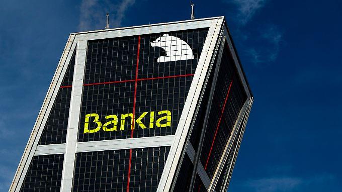 Bankia befindet sich in extremer Schieflage.