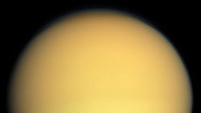 Der Saturnmond Titan.