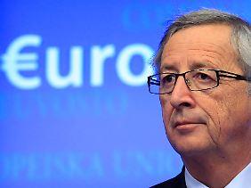 """Leicht zerzaust, aber zuversichtlich - Jean-Claude Juncker: """"Das Geld wird schon nächste Woche nach Griechenland fließen."""""""