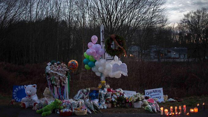 Newtown trauert um die Opfer.