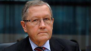 """""""Noch zwei bis drei Jahre"""": ESM-Chef sieht Ende der Eurokrise"""