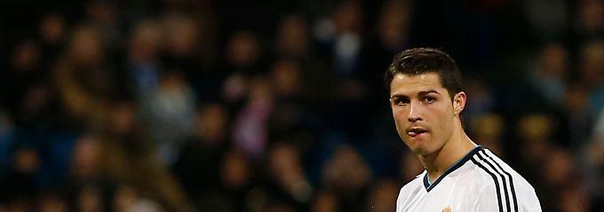 Ausgleich vor der Pause: Reals Cristiano Ronaldo.