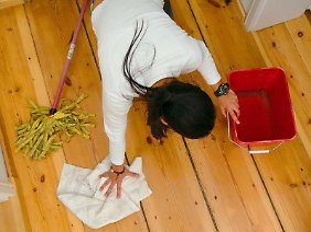 """Muss die Wohnung """"besenrein"""" übergeben werden, sollte grober Schmutz beseitigt werden."""