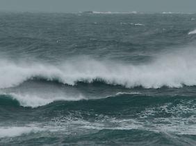 Die orkanartigen Winde verändern unter anderem die Meeresströmung.
