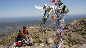 Gipfel des Cerro Uritorco: Hier wollen sich Dutzende Menschen kollektiv das Leben nehmen.