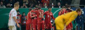 Offenbach feiert Pokal-Sensation: Ribery fliegt, FC Bayern siegt